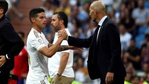 Zidane još jednom našao način da osramoti Jamesa Rodrigueza