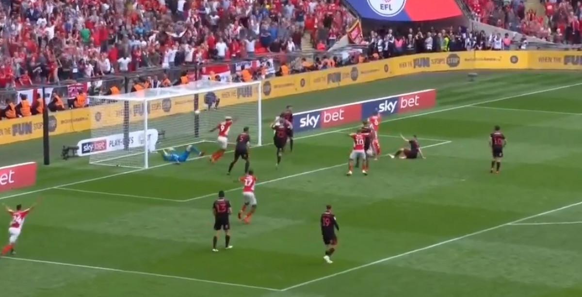 Nevjerovatan meč na Wembleyju: Charlton u posljednjoj sekundi zabio gol i plasirao se u Championship