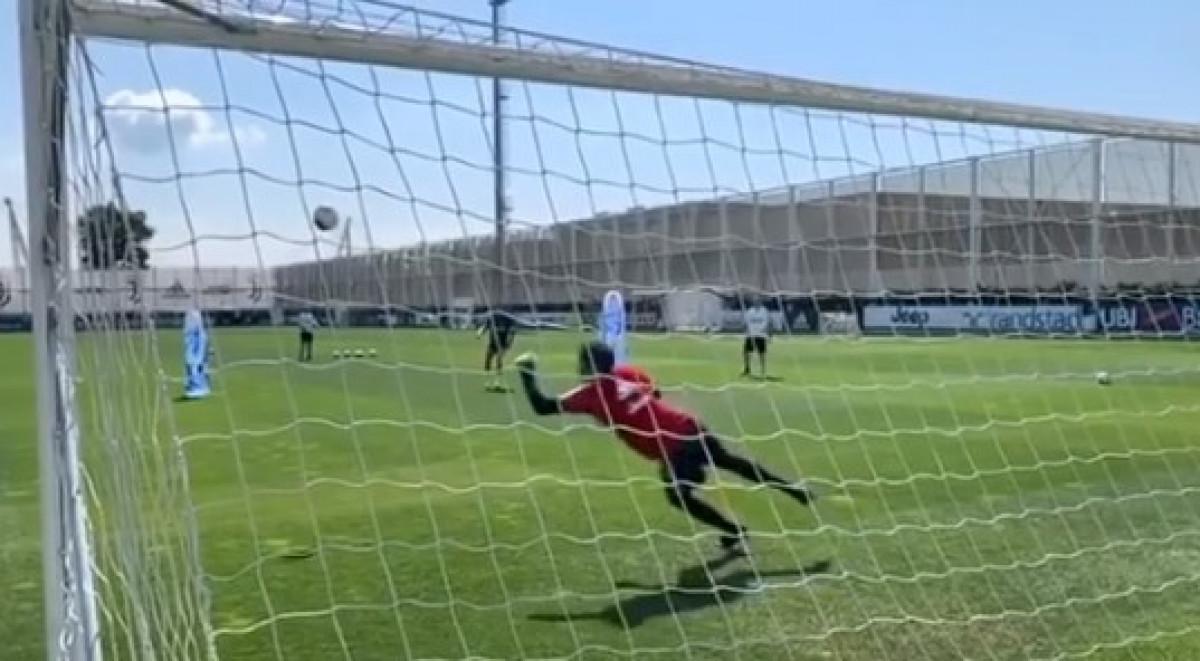 Ronaldova perfekcija na treningu Juventusa