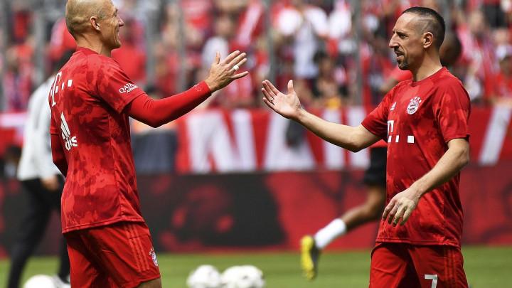 """Ribery pozvao Robbena u Fiorentinu, a ovaj mu odgovorio: """"Hoću ako dođe i Ibrahimović"""""""