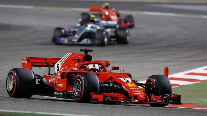 Vettel upisao i drugu pobjedu sezone: Vozač Ferrarija prvi u Bahreinu