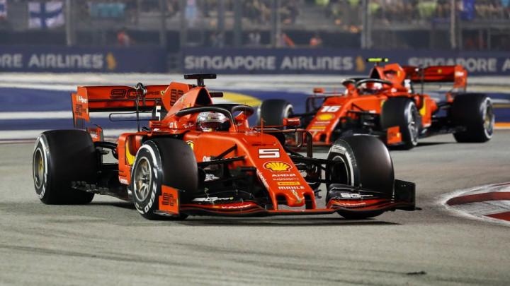Vettel slavio na VN Singapura, nova dvostruka pobjeda za Ferrari!
