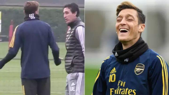 "Ozil i Emery se raspravljali na treningu, a igrač Arsenala je onda sve ""zakuhao"" objavom na Twitteru"