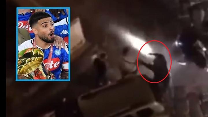 Šokantan video s ulica Napolija: Pištolji, repetiranje i pljačka, a onda je na scenu stupio Insigne