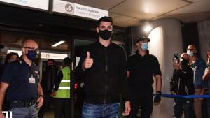 Ništa od dolaska Džeke: Morata sletio u Torino, Juventus mu poželio dobrodošlicu!