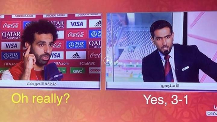 Salahova reakcija kada je saznao za rezultat duela sa Etihada opravdala nadimak Redsa