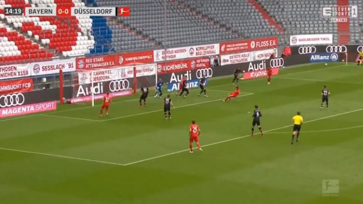 Fortuna Dusseldorf izdržala 15 minuta: Komedija u šesnaestercu i autogol za vodstvo Bayerna