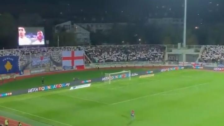 Englezi se dive onome što su navijači Kosova uradili tokom njihove himne