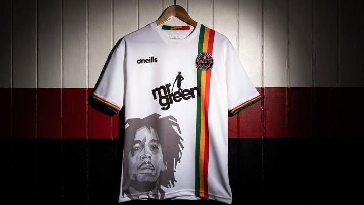 Irski klub predstavio nove dresove u čast Boba Marleyja