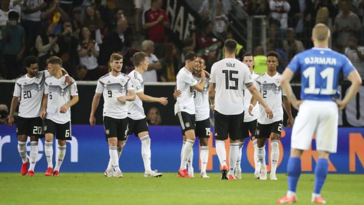 Njemačka demolirala Estoniju, važna pobjeda Mađarske protiv Velsa