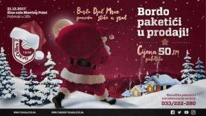 Bordo Djed Mraz ponovo stiže u grad - Novogodišnji paketići u prodaji