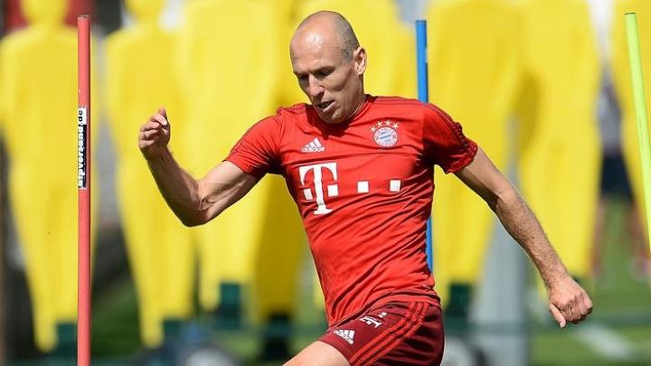 Robben se vratio treninzima Bayerna