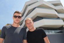 Džeko i Ibričić otvorili vrata luksuzne zgrade u Splitu