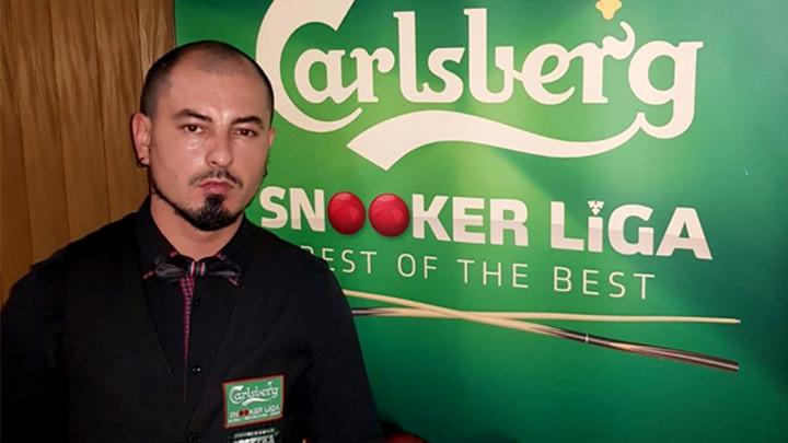 Elvis Čehajić osvajač prvog kola Carlsberg snooker državnog prvenstva BiH