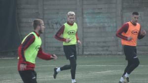 Novi fudbaleri Slobode trenirali sa ekipom