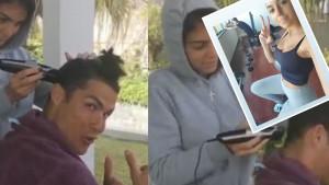 Je li Ronaldo zadovoljan kako ga je Georgina ošišala? Detalj iz teretane govori mnogo toga