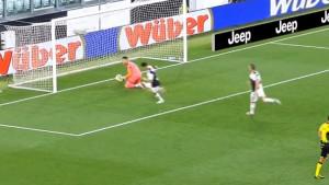 Ne može se ništa kada Ronaldo pošalje ovakvu bombu prema golu