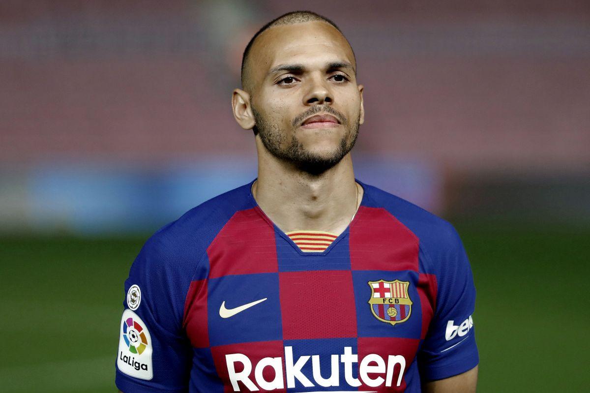 Tek što je predstavljen Braithwaitea navijači Barcelone uzeli na zub