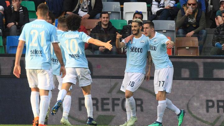 Lazio pobijedio Udinese i skočio na treće mjesto