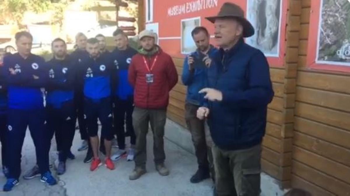 Team building pred Fince i Grke: Zmajevi obišli Bosansku piramidu Sunca