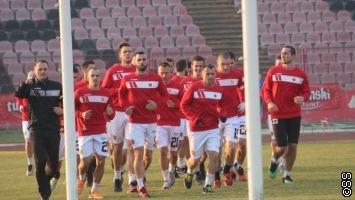 Fudbaleri Slobode trenirali odmah po povratku iz Turske