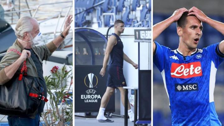 Kako je propao transfer Džeke u Juventus? Romin zahtjev razbjesnio De Laurentiisa