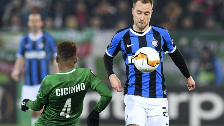 Eriksen zabio prvi gol za Inter, a Conte i nije bio previše oduševljen