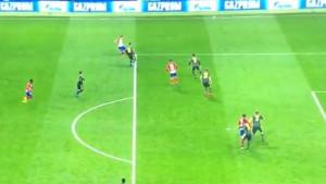 Navijači Atletico Madrida i Alvaro Morata proslavili gol, ali VAR ih razočarao