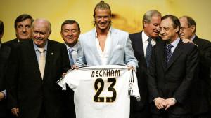 Na današnji dan prije 17 godina Beckham potpisao za Real i kompletirao 'Los Galacticose'