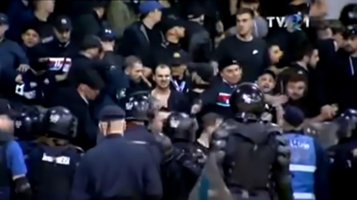 Tuča navijača na rukometnoj utakmici hit na youtubeu