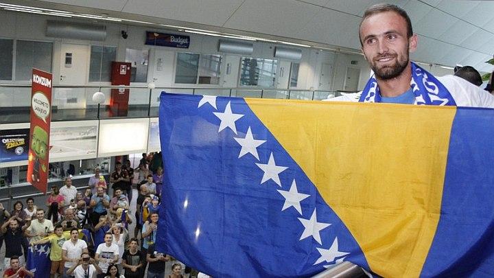 Amel Tuka nosi zastavu BiH na otvaranju OI