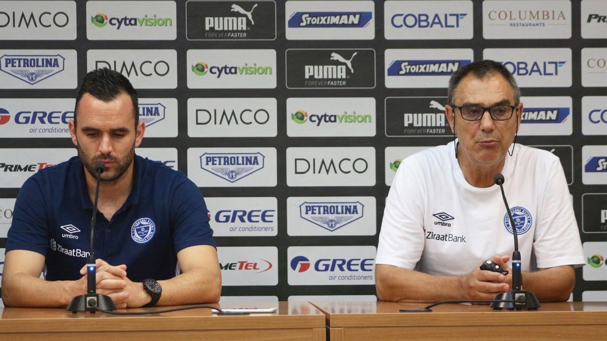 Odović: Moramo gledati na ugled kluba; Čurjurić: Pobjeđivao sam Apollon i sa slabijim ekipama