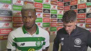 Bolingoli: Luda atmosfera za moju prvu utakmicu na Celtic Parku