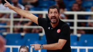 Ufuk Sarica na klupi košarkaške reprezentacije Turske do 2021. godine