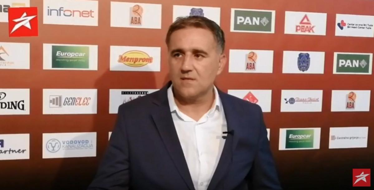 Bajić nakon pobjede: Ovo sve je nehumano za ekipu, ali i za mene kao trenera