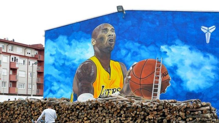 Konačno pozitivna slika iz BiH u SAD: Bryantov mural iz Gradiške oduševio Amerikance
