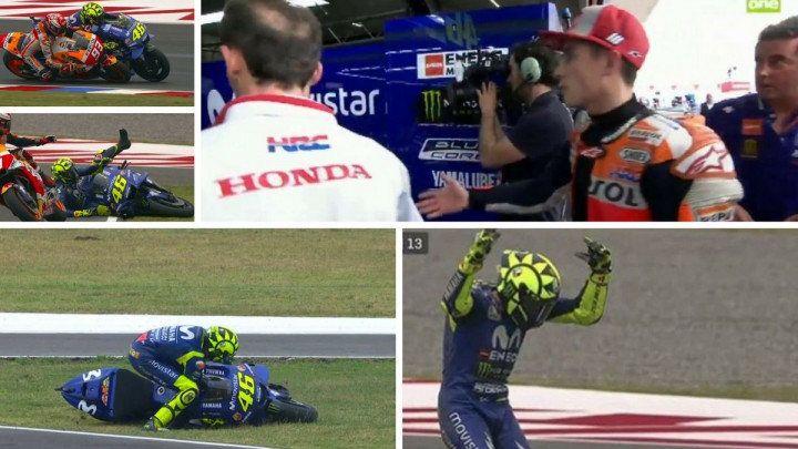 Bezobrazni Marquez otjeran iz Rossijevog boksa
