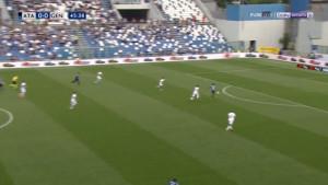 Zukanović lošom reakcijom poklonio gol Atalanti i približio je Ligi prvaka