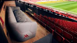 """Manchester United za svoje navijače predstavio """"sjedište iz snova"""" na Old Traffordu"""