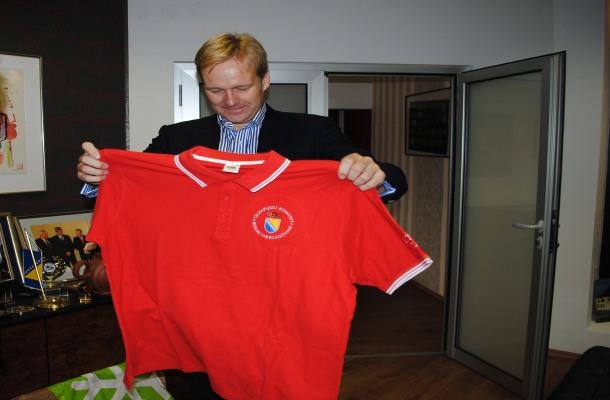 Sorensen u oproštajnoj posjeti Olimpijskom komitetu BiH