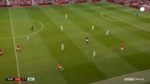 Zbog savršenog dodavanja Davida Beckhama, navijači su poželjeli da i danas igra za United