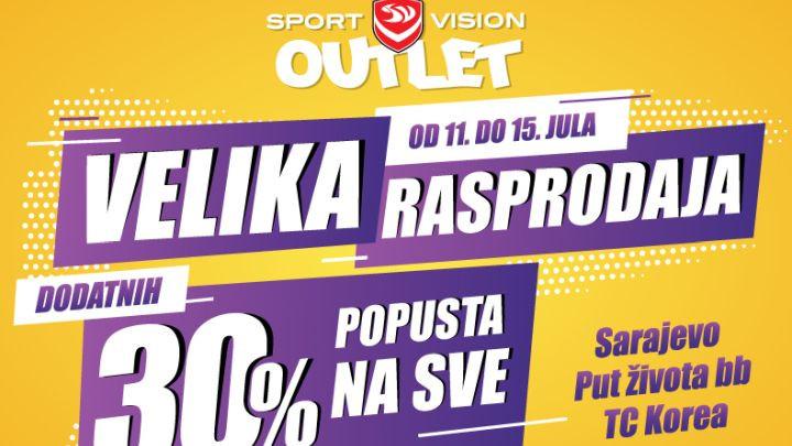 Velika Sport Vision rasprodaja - Sarajevo