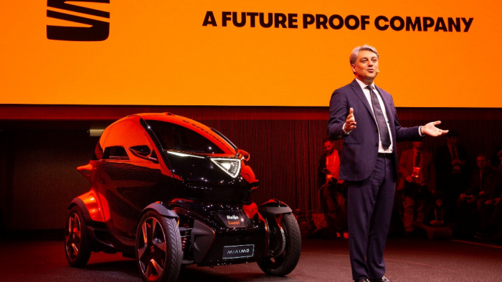 SEAT Minimo, koncept za revolucionarnu mobilnost