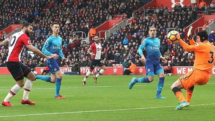 Giroud spasio Arsenal u Southamptonu
