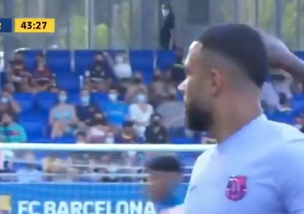 Depay odigrao tek nekoliko minuta za Barcelonu i već oduševio navijače