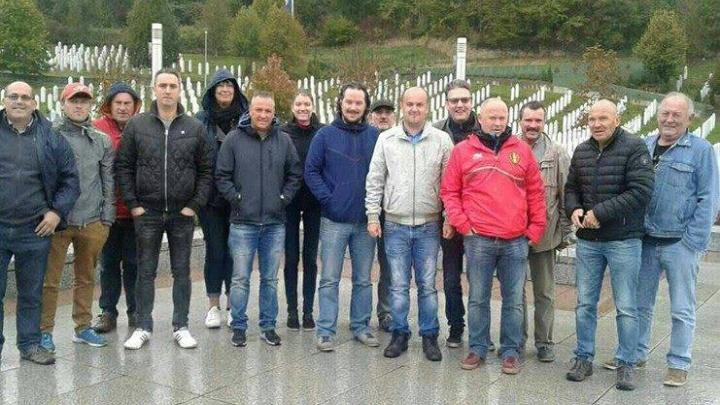 To su pravi navijači: Belgijanci posjetili Srebrenicu
