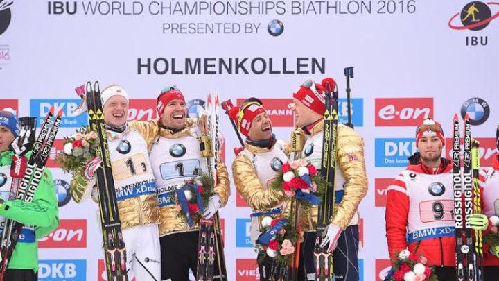 Norveška štafeta zlatna