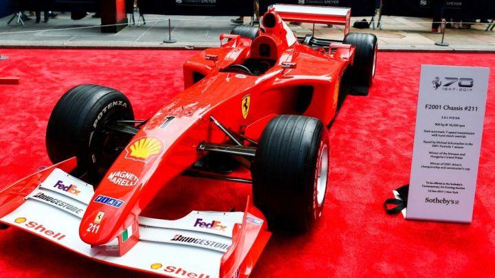 Bolid Michaela Schumachera prodat po rekordnoj cijeni