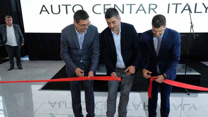 """U Sarajevu svečano otvoren """"Auto centar Italy"""""""