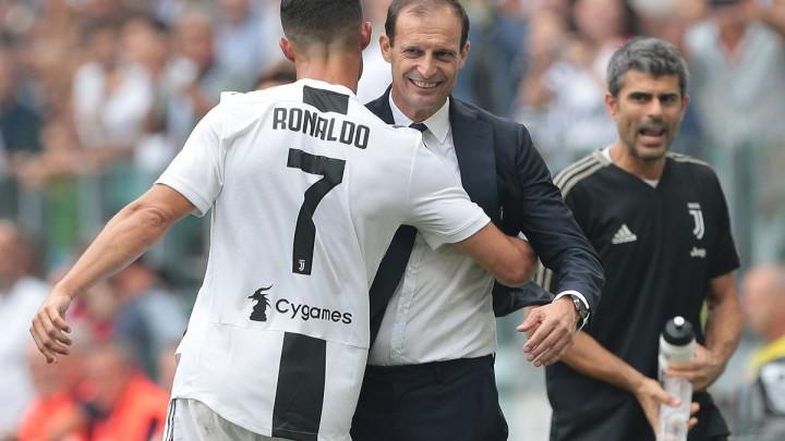 Cristiano Ronaldo emotivnom porukom pokazao koliko će mu nedostajati Massimiliano Allegri